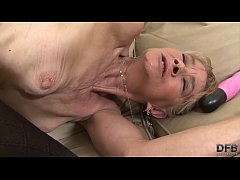 Old grandma fucked in hardcore interracial anal sex by bbc