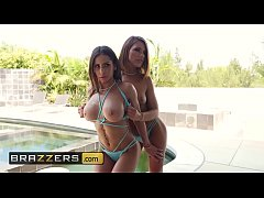 Day With A Pornstar - (Adriana Chechik, Madison Ivy, Keiran Lee) - Madison and Adriana - Brazzers