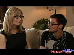 Milf humping with geek