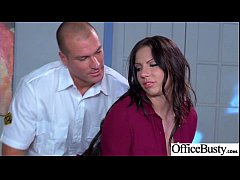(Lylith Lavey) Sexy Big Tits Office Girl Love Hard Sex clip-24