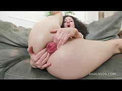 Black Roses Stacy Bloom Vs 2 BBC with Balls Dee...