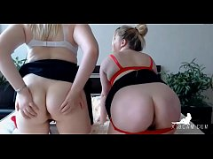 Estonian Chubby Girls Playing Together Part 2 -...