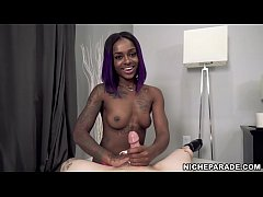 NICHE PARADE - Purple Haired Ebony Step Sister ...