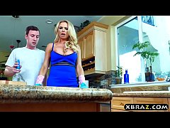 My uncles busty girlfriend Briana Banks wants m...