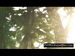 Clip sex Lost in woods 18yo Marsha May dicked before facial