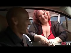 Young Dude Banging Redhead SSBBW GILF With Huge...