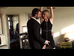 PASCALSSUBSLUTS - Dutch Jentina Small Hammered And Fed Cum