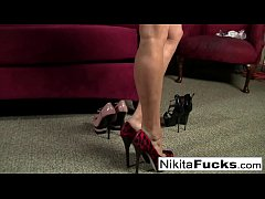 thumb nikita von jame  s plays with herself rself erself rself