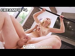 CUM4K Blonde Fucked With Multiple Creampies In ...