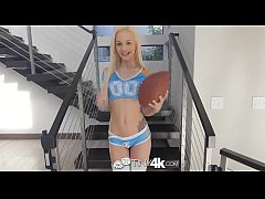 Tiny4K - Teen Kristina Bell dances and is fucke...