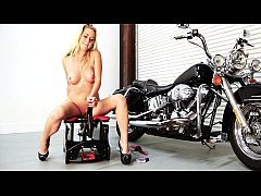 Mandy Armani rides the Rocker for Round Two