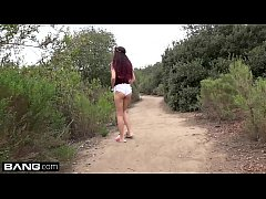 Brooke Haze cannot be tamed from fucking in the canyon!