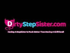 DirtyStepSister - Playful Sibling Game Ends Wit...