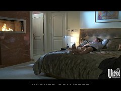 Horny brunette wife Francesca Le fingered and fucked by her man