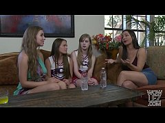 Lena Paul helps on her younger lesbian friend S...