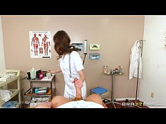 Brazzers - Doctor Riley Reid helps get the cum out