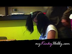 myKinkyHobby.com video: I half shaved this slut...