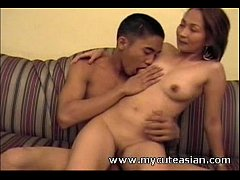 Asian cutie cannot get enough of that cock
