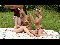 Cloudy Lappers by Sapphic Erotica - lesbian love porn with Tania - Kari