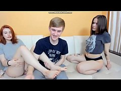 Clip sex threesome on webcam