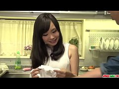 Strong fuck for shy looking Mayu Kawai in home ...