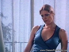 Classic Babe In Vintage Sex Film