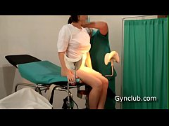 Girl's orgasm on the gynecological chair  (ep13)