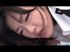 Ruri Okino amazes with her mouth and pussy  - M...