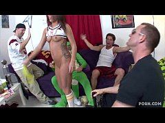 Cute Co-ed Haley Sweet Takes Dick From TJ Cummi...