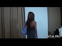 Clip sex Playful oriental wench jumps on a guy's dick without limits