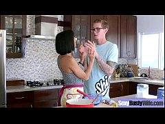 Wild Housewife (veronica avluv) With Big Juggs Bang Hardcore clip-29