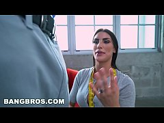 BANGBROS - August Ames to Please on Monsters of...
