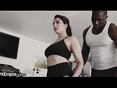 XEmpire Valentina Nappi Rides Trainer's Hard BBC at the Gym