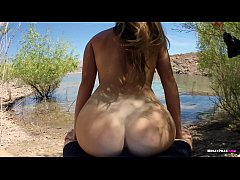 Little Anal Virgin gets Her Tight Butthole Fucked and Pussy Creampie POV - Molly Pills - College Freshman gets First Cock in her Ass Public Beach Anal Sex