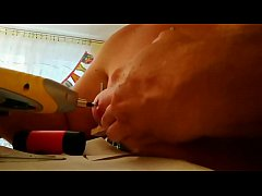 Screwed tit and hammered nails in breast torture   Bodkin1 full video