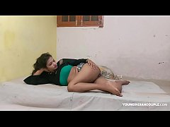 Big natural tits Indian teen Sarika titty and p...