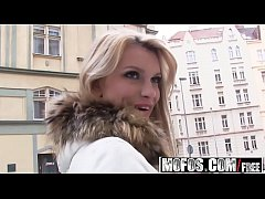 Mofos - Lets Try Anal - Karina Grand - Sexy Blondes First Anal Pounding