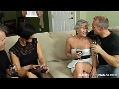 BACKSIDE MILF Swingers Couples Swap Hardcore Fuck Session
