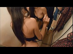 Clip sex Absolute SMOKING HOT light skinned black chick gets bent over in a public changing room (set to the perfect music)