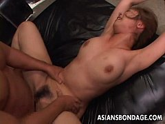 Clip sex Asian babe getting roped up and she is fucked dearly