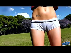 Clip sex ROUND ASS TEEN in Short Shorts EXPOSING big CAMELTOE IN PUBLIC PARK - ArgentinaMeGusta.com video AMG-172 - Complete Lo Res Version