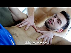 GayRoom - Alex Tanner and Jason Maddox take turns on the fuck train express