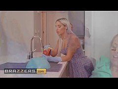 (Abella Danger, Zoey Monroe) squirting allover after a hard fucking - Brazzers