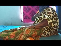 indian cheating house wife saree removing and b...