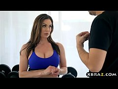 Gym fucked with Kendra and lusty dude