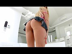Gonzo style anal with hot Katie Montana by Ass ...
