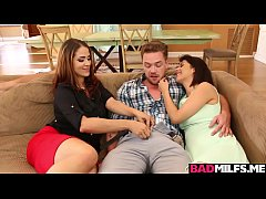 Penelope threesome fuck with...