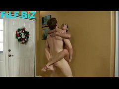 Wenona in Mom wrestles naked with son
