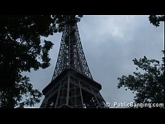 Eiffel Tower in Paris...