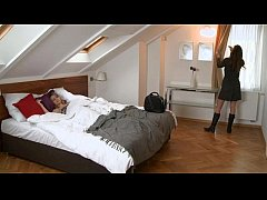 Orgasms - She comes home from Business